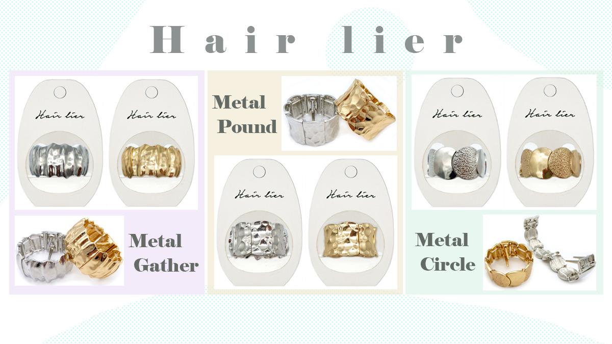 hairlier ヘアリエル メタルシリーズの画像